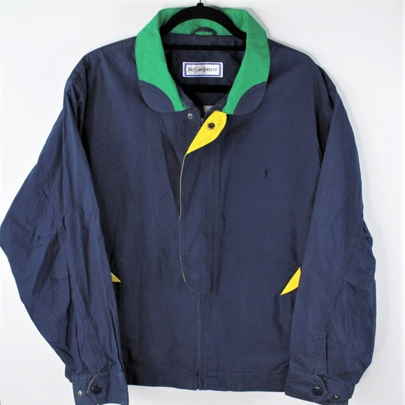 Yves Saint Laurent Other - VTG Yves Saint Laurent YSL Colorblock Jacket
